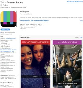 Yeti download screenshot