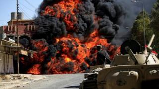 Иракские военные в Талль-Афаре