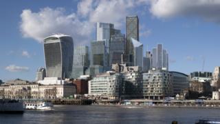 Примерно так может выглядеть лондонский Сити к 2026 году
