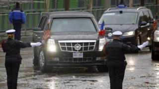 Kenyataan bahwa limosin Presiden Trump adalah Cadillac dipandang membantu penjualan di Cina.