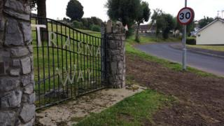 The assault happened in the early hours of Saturday morning in Trasna Way, Lisnaskea