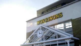 Large Morrisons' store