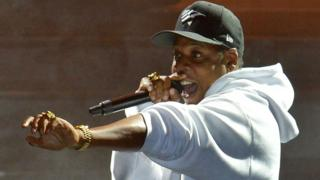 Jay Z performs live on stage during V Festival 2017 at Hylands Park on August 20, 2017 in Chelmsford, England