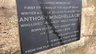 Anthony Minghella plaque