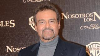 Gonzalo Vega attending a conference about the film Nosotros Los Nobles in the Four Season Hotel ion 13 March 2013