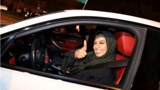 Мусульманка за рулем