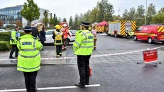 Chemical incident at Farnborough Village Hotel