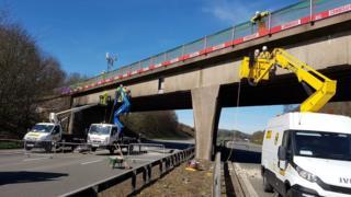 M6 Bridge scene