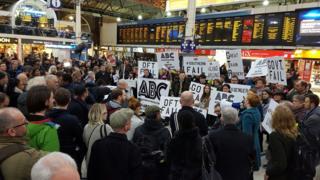 ABC protest