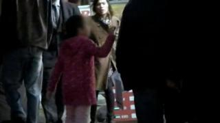 Screenshot from 2011 Panorama shows child begging