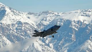Avião da Força Aérea americana
