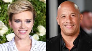 Scarlett Johansson ve Vin Deisel