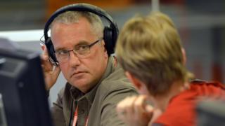 Eddie Mair, presenter of BBC Radio 4's PM programme