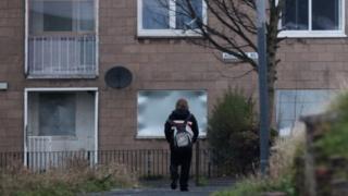 Housing estate in Glasgow