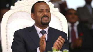 Ethiopia Prime Minister Abiy Ahmed