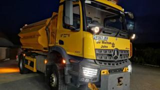 One of the gritters with the name Sir Melton John