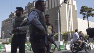 حملات تهران