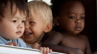дети разных рас