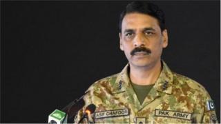 ښاغلي جنرال اصف غفوردا خبرې د پاکستان تر ولکې لاندې کشمیر په اړه د جنرال بپن راوت د څرګندونو په غبرګون کې دی.
