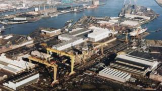 Harland and Wolff shipyard, Belfast