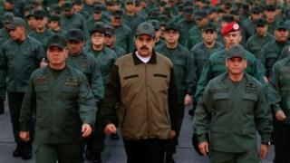 درخواست رهبر مخالفان برای اعتصاب سراسری در ونزوئلا