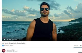 Despacito या गाण्याचा व्हीडिओच