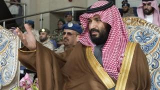 Yarima mai jiran gado na Saudiyya Mohammed bin Salman