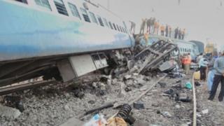 аварія потяга