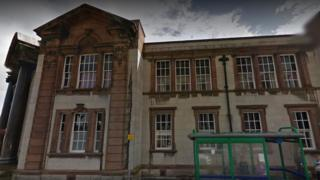 Ruthin coroner's office
