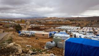 Arsal'daki El Nihaya göçmen kampından bir fotoğraf (Arşiv fotoğraf)