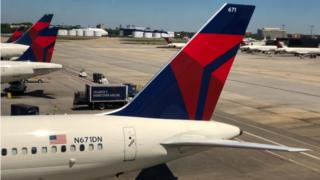 Images of Delta planes