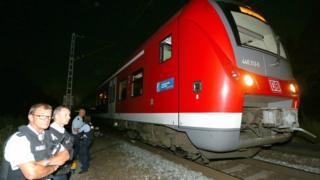 Инцидент произошел в пригородном поезде вечером в понедельник