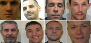 Prisoners who have fled lawful custody in the past two years