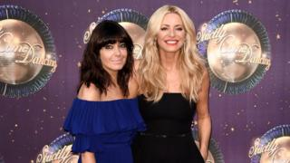 Hosts Tess Daly and Claudia Winkleman