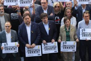 Catalan leaders