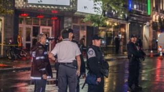 La policía de Montreal