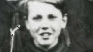 Young David Attenborough