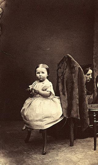 Ross and Thomson Unknown Child, circa 1860s