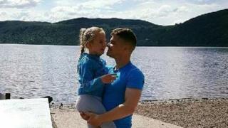 Scott White and his daughter Blainie
