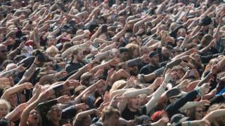 Atmosphere at Bloodstock