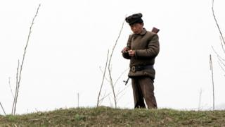Северокорейский солдат