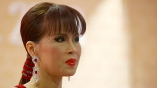 RH Princess Ubolratana Rajakanya attends the Golden Kinnaree Awards