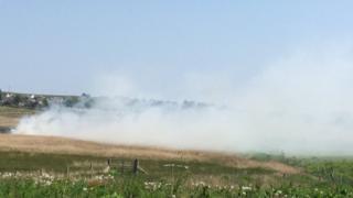 Wildfire near Stornoway