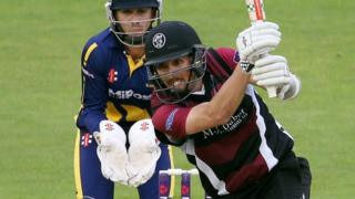 Tom Cooper of Somerset