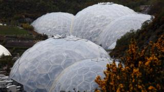 The Eden Project received European Union funding.