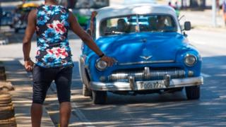 Автостоп на Кубе