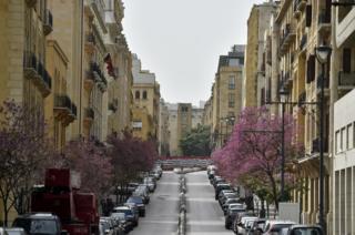 улица в Бейруте