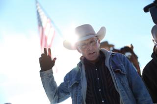 """Robert """"LaVoy"""" Finicum was shot by officers during a traffic stop on 26 January"""