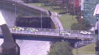 Bridge incident