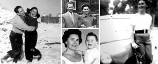 Family snaps of Lale and Gita Sokolov - including their young son, Gary